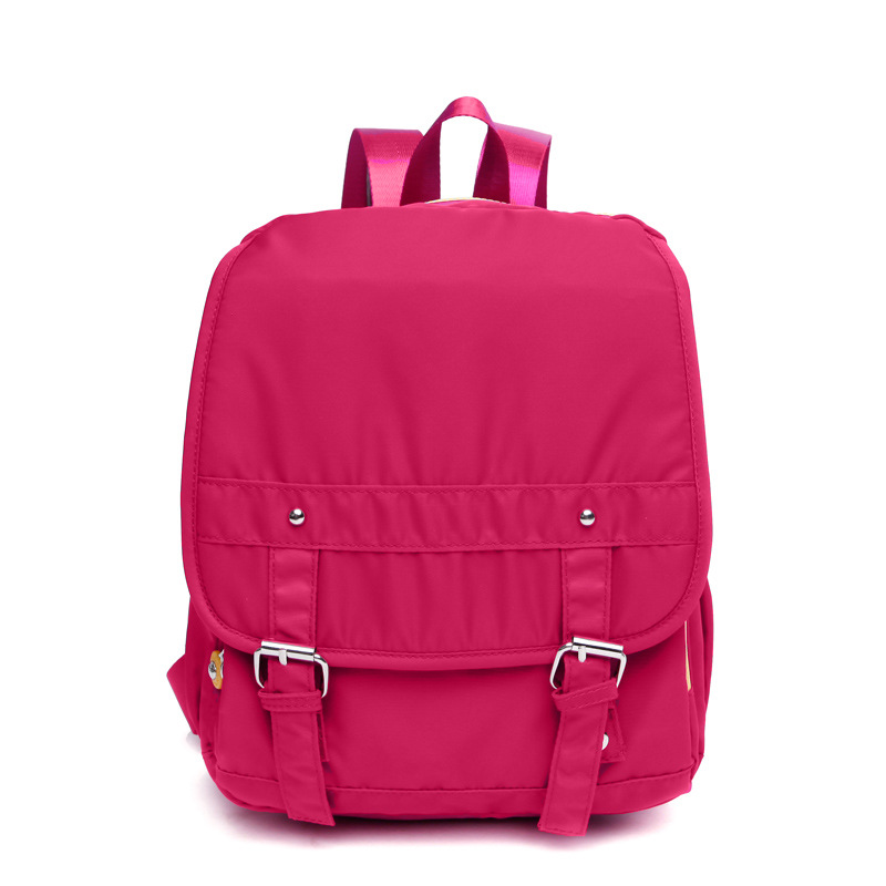 2016 New Woman Backpack Hot Sale Nylon Waterproof School Bag ...