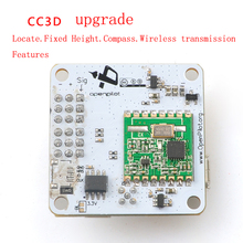 RC Quadcopter FPV OpenPiolot CC3D Revolution Flight Controller Upgrade Integrating dron Barometer Compass Toys Free shipping