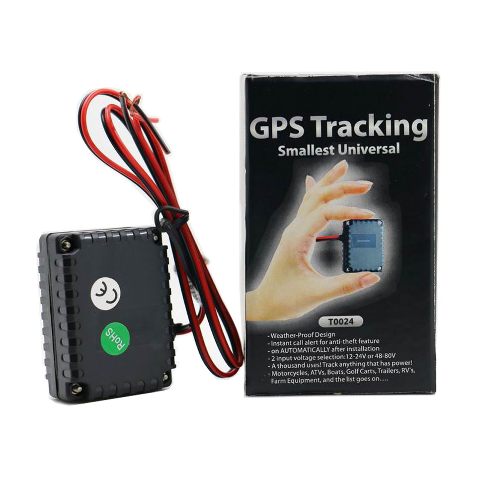 T0024 Smallest GPS Tracking Device GSM Alarm For Car Moto Auto Truck Electric Bikes Vehicles GPRS Online Tracking System(China (Mainland))