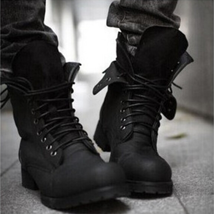 Online Get Cheap Combat Boots Men Fashion -Aliexpress.com ...