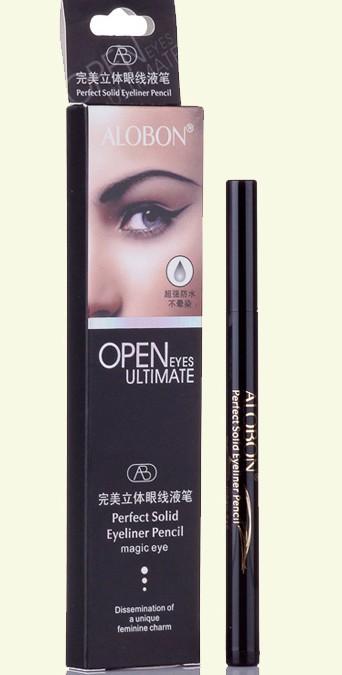 Black MakeUp Eyeliner Pencil Liquid Fast  Dry 2ML Korean Brand Makeup kit Cosmetic Eye liner 60pcs Long-Lasting Eye Liner Gel<br><br>Aliexpress