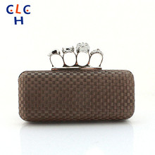 Knucklebox Wedding Handbag Party Prom Bag Diamond-Studded Evening Bag With A Diamond Day Clutch Female 2016 Ladies Handbag Auger