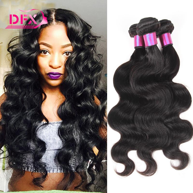 Qingdao Hot Hair Company 7A Brazilian Virgin Hair Body Wave 3 Bundles Unprocessed Brazilian Body Wave No Tangle Free Shipping<br><br>Aliexpress
