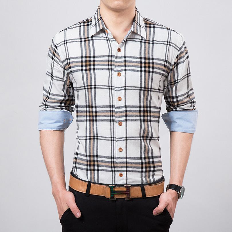 Buy Men Shirt 2016 New Fashion Casual
