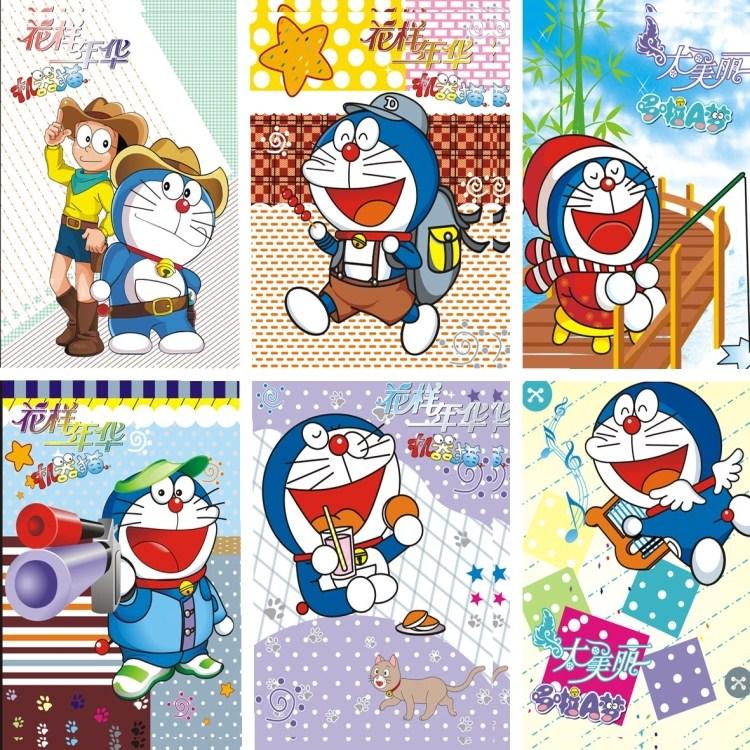 Fashion cartoon wallpaper for mural child cartoon cat for Cartoon mural wallpaper