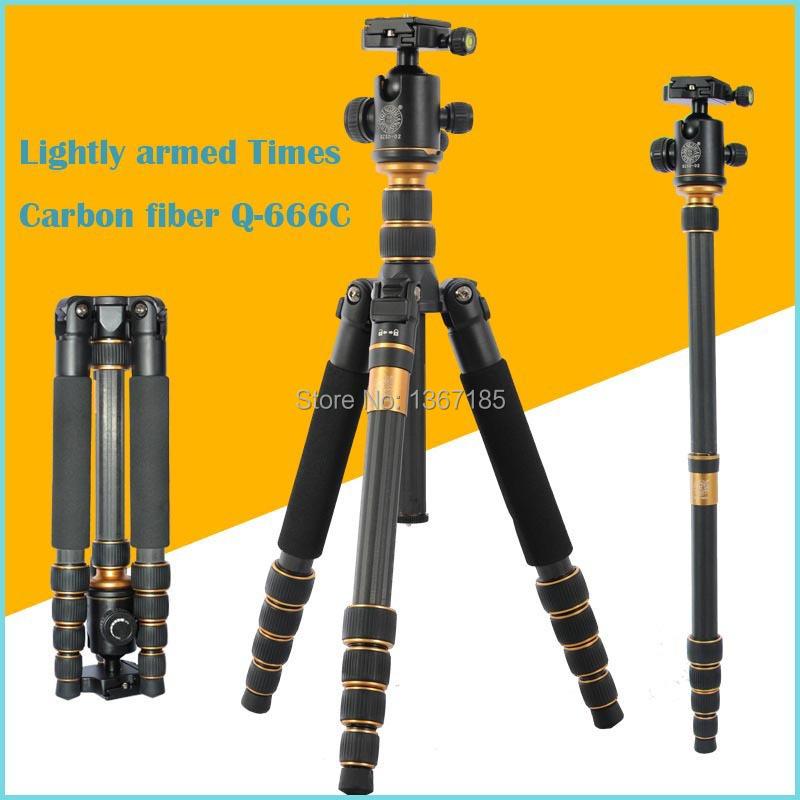 Штатив OMEE SLR qzsd/666 & Q666 f09932 q666 qzsd 666 photographic portable tripod set for digital slr camera only 35cm load bearing 15kg