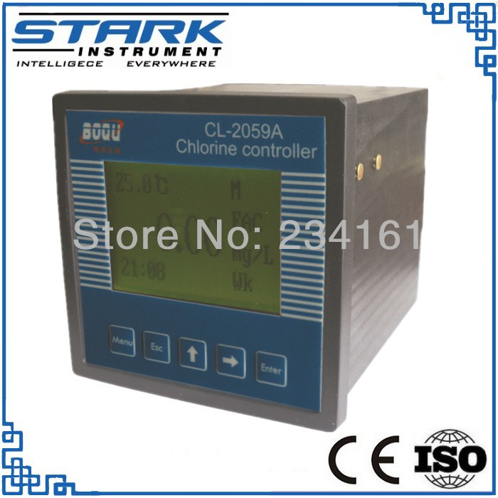 Buy Industrial Online Free Chlorine Meter Swimming Pool Water Quality Monitor