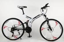KUBEEN горный велосипед 26 дюймовый стальной 21 скорость велосипеды двойной дисковые тормоза с переменной скоростью дорожные велосипеды гоночн...(China)