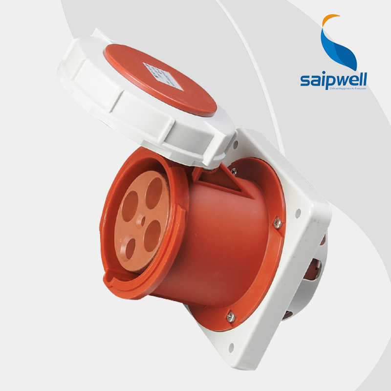 Wholesale Saipwell 4P (3P+E) 400V 125A High-current IP67 EN / IEC 60309-2 connector industrial socket cee plug and socket SP1457<br><br>Aliexpress