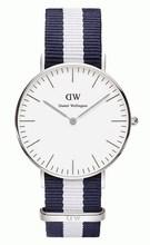 Famouse Brand Daniel Wellington Casual Watch Fashion DW Silver Dress Watches Women Men Nylon Sport Quartz Wristwatches