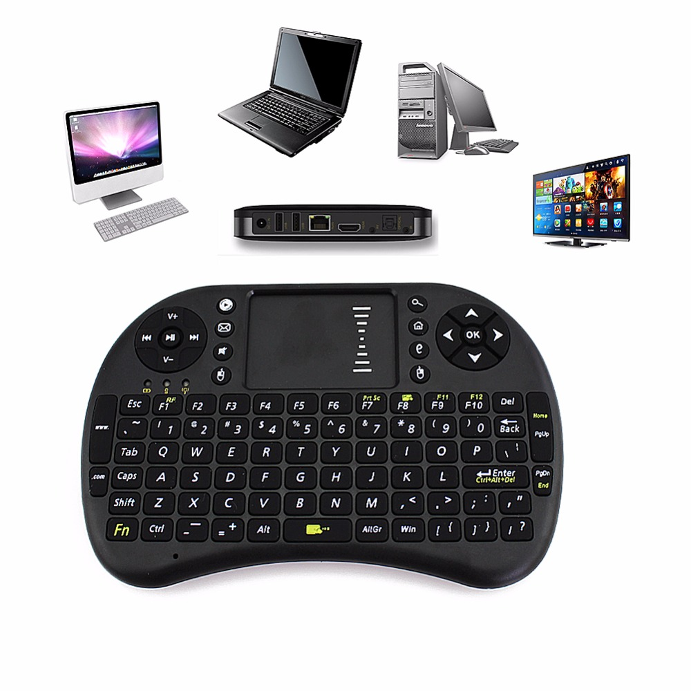 2.4G Original I8 Mini Wireless Board Keyboard Touchpad Air Mouse Mause Fly Mouse Remote Control for Android Windows TV Box Phone(China (Mainland))