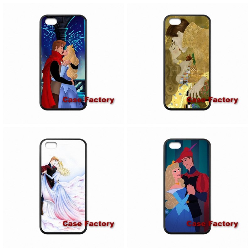 Free Shipping Sleeping Beauty Aurora and Phillip For Samsung S4 S5 S6 Active Win S Duos2 Sony Z1 Z2 Z3 Compact(China (Mainland))