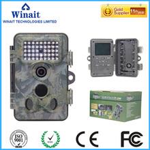 "Free Shipping 2.4"" TFT Display Video Camera 12mp Digital Scouting Camera full hd 1080p animal scouting camera Russia WT-1006(China (Mainland))"