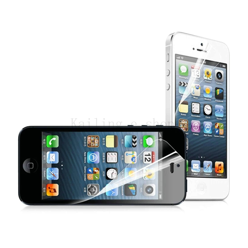 1pcs/lot Front Clear Screen Protector Screen Protective Film For Apple iphone 5 For iphone 5S for iphone5G