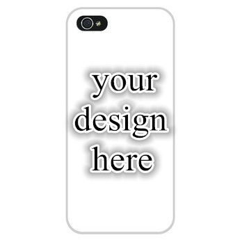 1piece embossed customized printing hard white black case personalized back cover iphone 6 6P plus 5 5s 4 4s 5C - Est. store