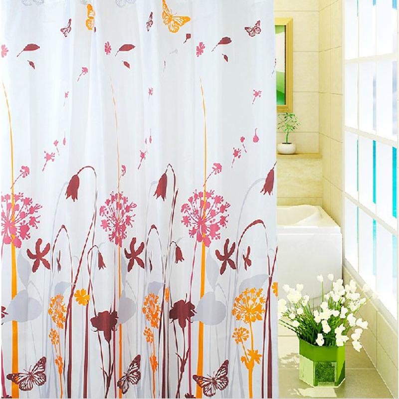Cheap fabric shower curtain