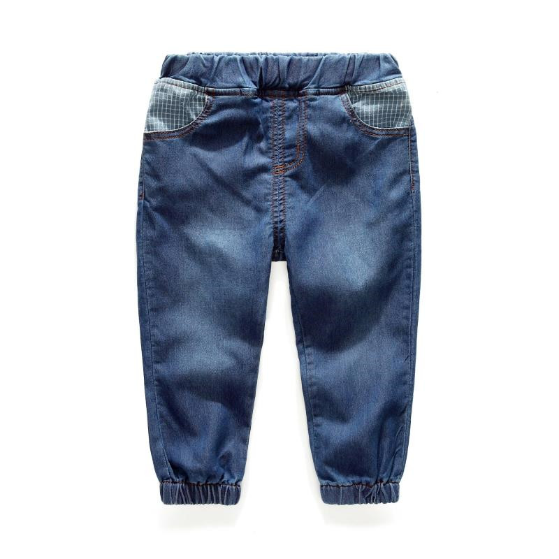 2T to 6T children boys blue denim jeans autumn spring casual pants kids kids fashion cotton elasit waist jeans trousers clothes(China (Mainland))