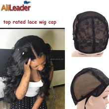 Hot Selling 5 Pcs New Fishnet Mesh Wig Cap Stretchable Lace Wig Caps For Making Wigs With Adjustable Strap Bonnet Lace Perruque(China (Mainland))