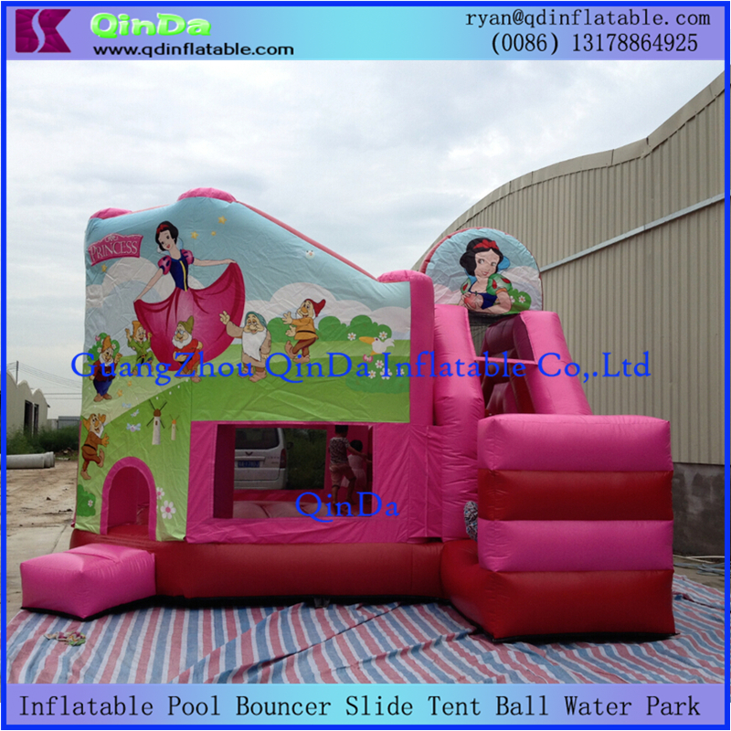 Bouncy Castle Inflatable Toy Slide Doll House Slide Combo Inflatable Jumper Clown Inflatable Moonwalk Moon bounce House(China (Mainland))
