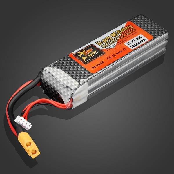 ZOP Power 11.1V 2800mAh 30C Lipo Battery XT60 Plug<br><br>Aliexpress