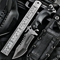 HX OUTDOORS Tactical Military Army Knife Fishing Harpoon Camping fixed knifes Hunting knives survival tool Karambit