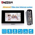 Tmezon 7 Touch TFT Color Monitor 1200TVL Camera Video Door Phone Intercom Security Speaker System Waterproof