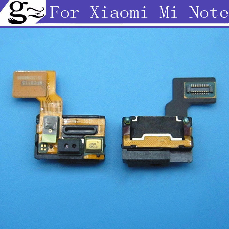 Original Earpiece Receiver Module with Microphone Proximity Light Sensor Flex Cable for Xiaomi Mi Note Replacement Spare Parts