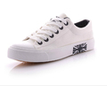 High quality high low unisex canvas shoes Casual Breathable Flats men shoes lace up