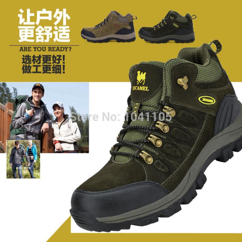 Autumn winte Men women hiking shoes mountain trekking waterproof slip climbing boots outdoor sport - jiajia Outdoor Co., Ltd. store