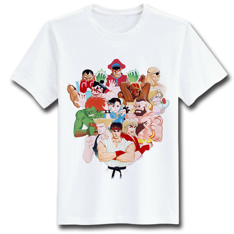 T Shirts Cartoon Characters : Summer t shirt women men retro harajuku tshirts creative