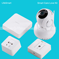 LifeSmart Smart Socket Station Centre IP Camera Environment Sensor Cell Phone Remote Control Home Appliance Like