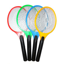 Mosquito Zapper Swatter Killer 1pcs Rechargeable LED Electric Insect Bug Fly Racket 3-layer Net Safe MD013(China (Mainland))