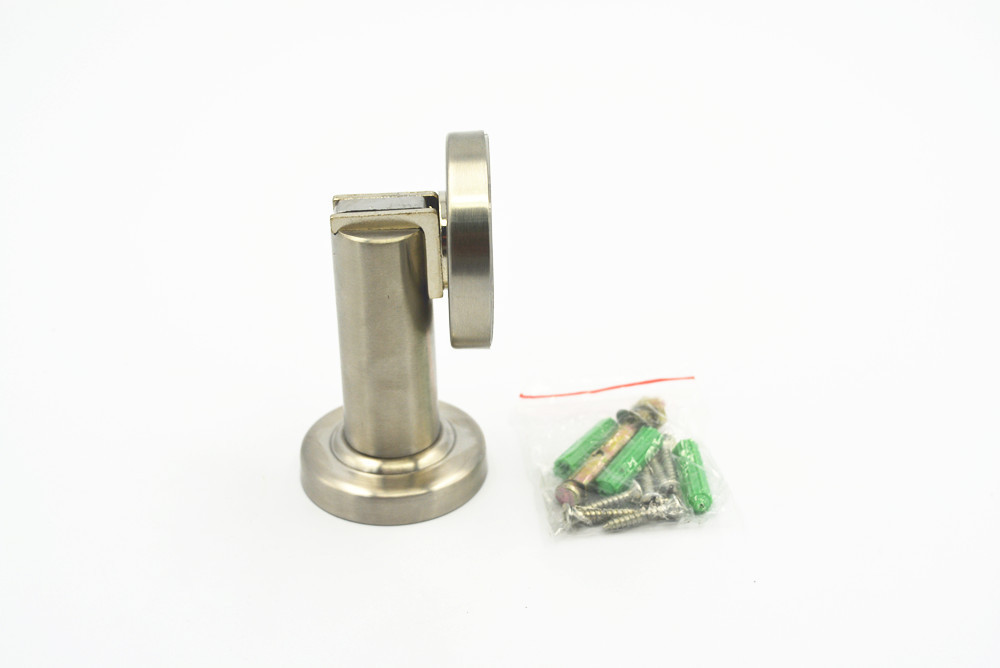 Гаджет  Stainless Steel Strike Base Door Holder Magnetic Stopper Doorstop None Аппаратные средства