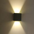 Modern Cube Adjustable Surface Mounted 7W LED Wall Lamp Outdoor Waterproof IP65 Aluminum Wall Lights Garden