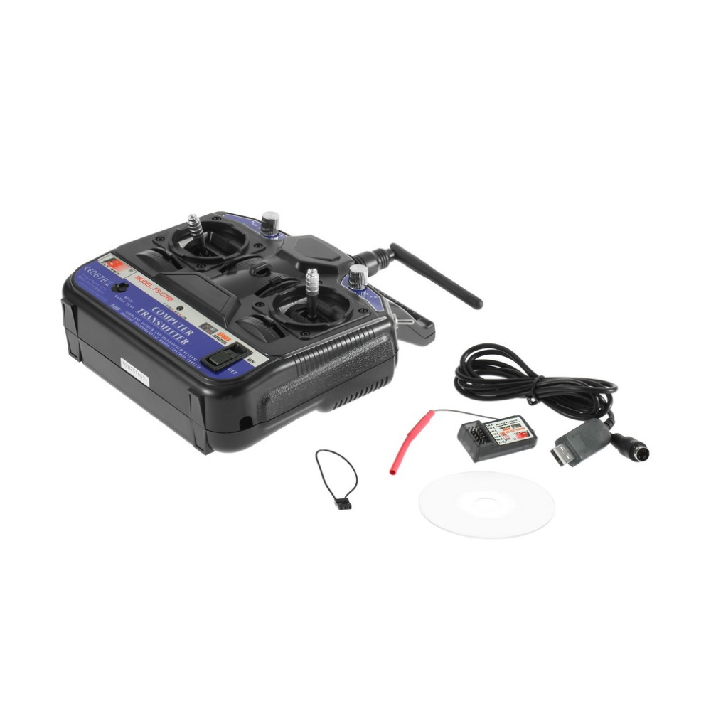 FLY SKY 2.4G FSCT6B 6Channels Transmitters Model RC Receiver Stability Control For Airplane Helicopter Glider UAV Worldwide sale(China (Mainland))