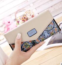 PÁSSAROS VOANDO carteira das mulheres carteiras marcas bolsa dólar preço LM4163fb impressão designer bolsas titular do cartão saco de moeda feminino(China)