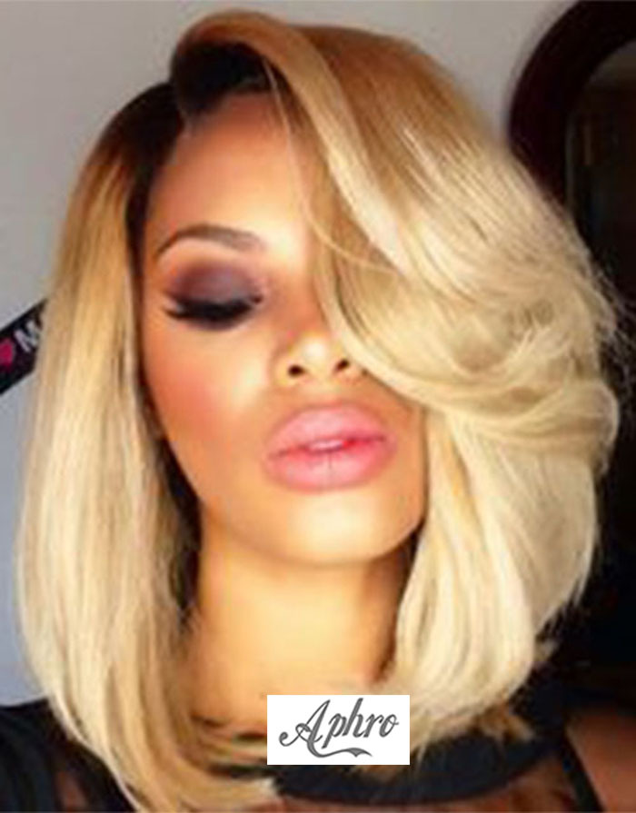 Blonde Wig With Roots 25