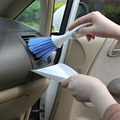 Car cleaning brush Car outlet brush Multifunctional keyboard broom dustpan Small packages set