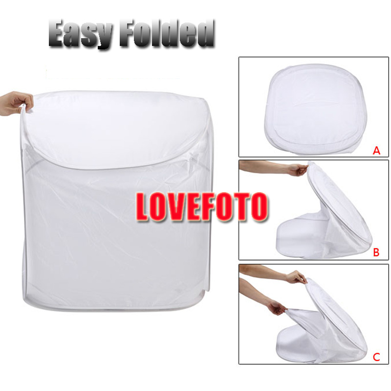 High quality 50 *50* 50 cm Photo Soft Box Photography Light Tent Cube Softbox for Camera Studio Props 4 Backdrops free shipping(China (Mainland))