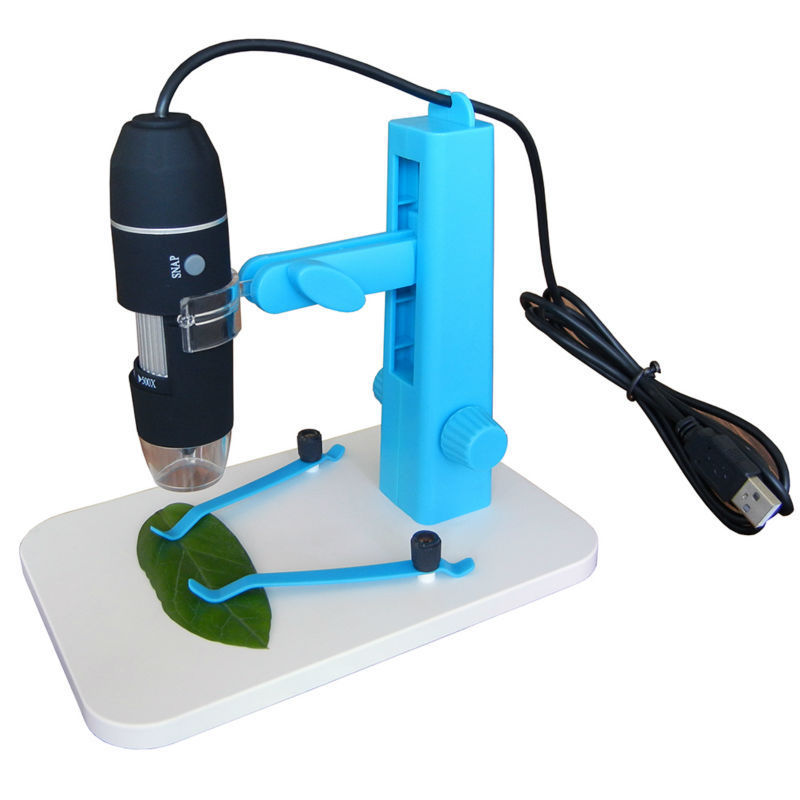Free Shipping Black USB Digital Microscope U200X 8 LED with Whith Board Lifting Stand Base pcb Inspection Camera(China (Mainland))