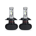 Oslamp H4 Hi Lo Beam LED Car Headlight Bulb 50W 6500K 8000lm Auto Led Headlamp CREE