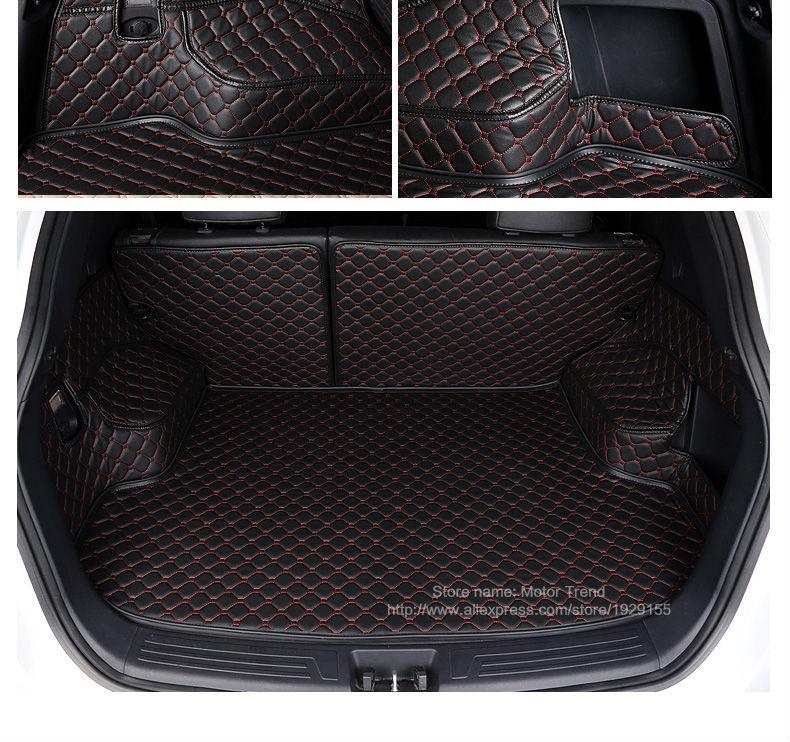 Купить Custom fit автомобилей коврик багажного отделения для Infiniti FX35/45/50 G35/37 JX35 Q70L QX80/56 3D all weather стайлинга автомобилей лоток ковер грузов лайнер