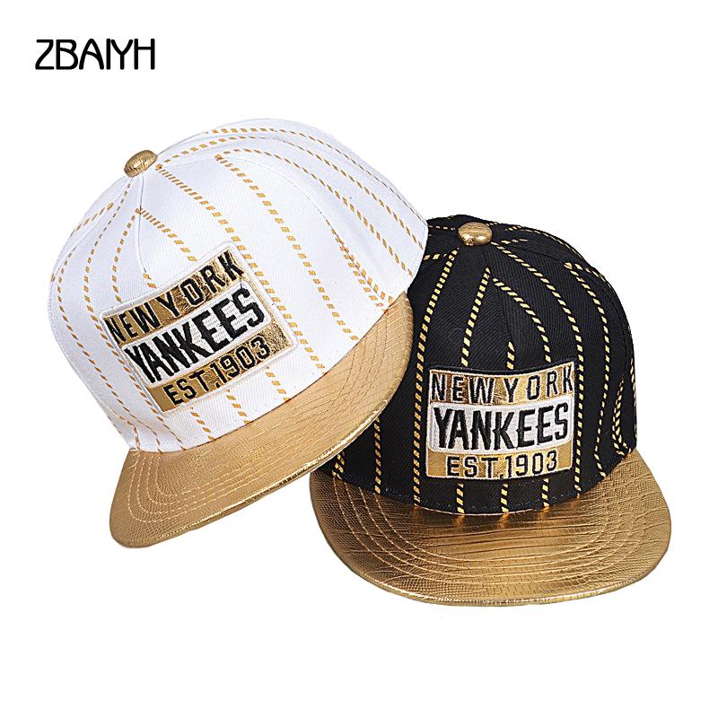 new brand children Yankee baseball caps boys girls stripe snapback gorras planas hip hop ny casquette high quality hats for kids(China (Mainland))