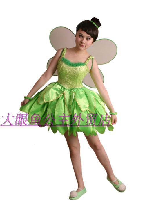 Movie Cosplay Costume Professional TinkerBell Dress for Party Costumes  For Womens Kids Free shippingОдежда и ак�е��уары<br><br><br>Aliexpress