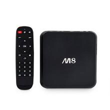 Latest Original M8 Android TV Box Amlogic Quad Core 2G/8G 1080P 4K WiFi movie Receiver Media Player IPTV Smart TV Mini PC