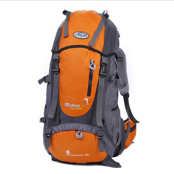 Здесь можно купить  55L Professional Waterproof Mountaineering bag High quality Breathable Nylon Sport Backpacks Brand Camping men/women travel bags  Камера и Сумки