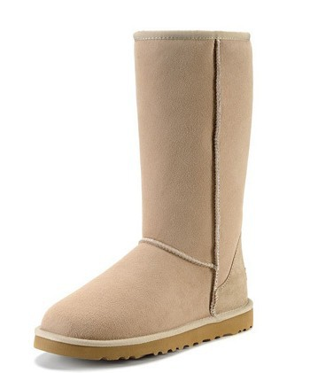 Brand Australia Classic Tall Black/Sand Bailey Button Snow Boots Women's 5815 Winter Classic Short Shoes 5803 snow boots US 5-10(China (Mainland))