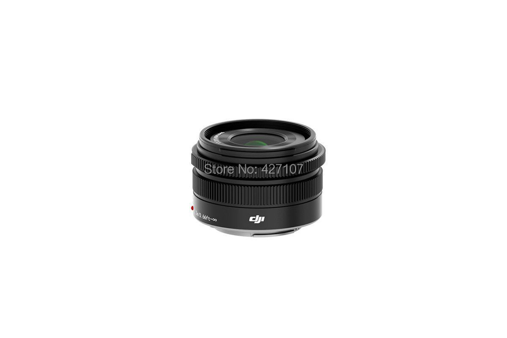 Free Shipping 100% Original DJI MFT 15mm F/1.7 f1.7 ASPH Prime Lens For DJI Inspire 1 Zenmuse X5 Gimbal X5R