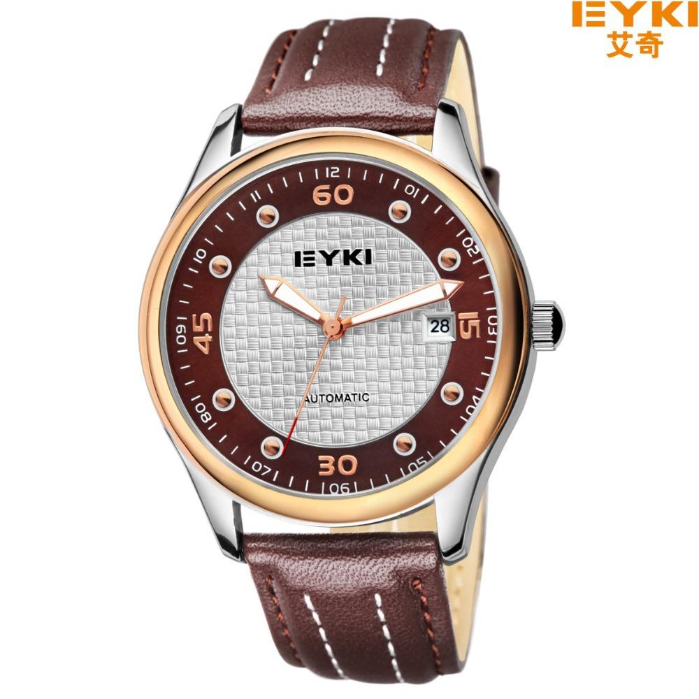 branded eyki fashion leather mechanical s