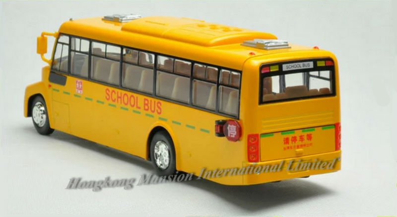 132 Car Model For Amecican School Bus style 1 (5)